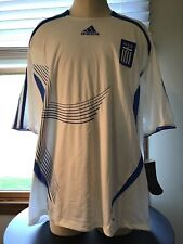 Greece Soccer Jersey Football Shirt Adidas 100% Original 2006/2007 Home Men's XL
