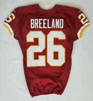 #26 Bashaud Breeland of Washington Redskins NFL Game Issued Jersey