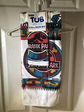 Vintage Jurassic Park Towel Set Bibb Tub Mates 1992/1993 90's New Old Stock Nos