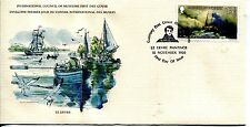 GREAT ART STAMPS OF THE WORLD GUERNSEY BOATS AT SEA BY PETER LIEVRE