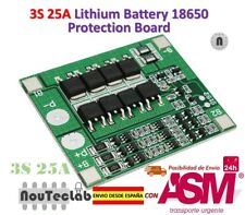 3S 25A Li-ion 18650 BMS PCM Battery Protection Board with Balance BMS PCM