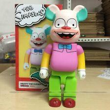 Medicom 400% Bearbrick The Simpsons Krusty The Clown Corkbars 28CM Action Figure