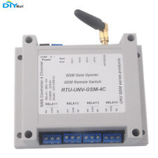 4 Channel Relay Module SMS Call Controller GSM Remote Control Switch SIM800C