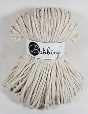 Bobbiny `Kordel/Seil/Rope - Regenbogenstaub 100m` Neu Stricken,Häkeln,Macrame