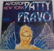 PATTY PRAVO -AUTOSTOP/ NEW YORK 45 GIRI