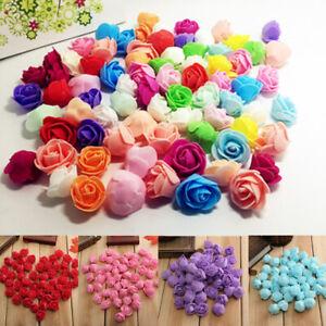 500Pcs/Pack Mini PE Foam Artificial Fake Rose Flower Bouquet Wedding Home Decor
