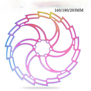 Bicycle Disc 160/180/203 Mountain Bike Hollow Ultra Light Disc Six Nail Brake