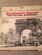 """THE VILLAGE STOMPERS """"WASHINGTON SQUARE"""" 1963 LP - EPIC STEREO"""