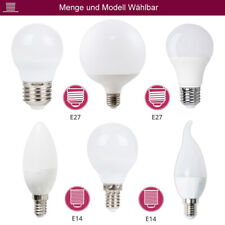 LED Leuchtmittel Glühbirne Glühbirnenform E14, E27, GU10, G120, G95
