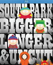 Blu Ray SOUTH PARK The Movie. Bigger, Longer & Uncut. Region free. New sealed.