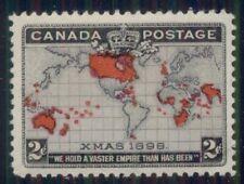 CANADA #85 2¢ Map, og, NH, VF, Scott $90.00
