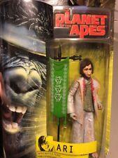 "The Planet of the Apes: ""Ari"" Hasbro Action Figure NIB 2001"