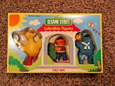 Vintage Sesame Street Muppets Collectible Figures Gift Set Tara Toy Corp.