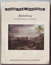 Heidelberg in Gedichten und Bildern  ca. 1927 Goldschmit
