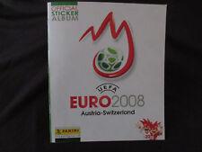 Panini  UEFA EURO 2008 Leeres Album Stickeralbum Deutschland  Europa Leeralbum