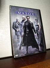 The Matrix starring Keanu Reeves & Laurence Fishburne (DVD, 1999)