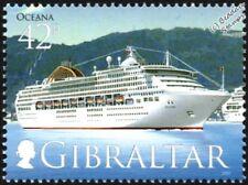 2000 MV OCEANA (Ocean Princess) P&O Ocean Cruise Liner Ship Stamp/2007 Gibraltar
