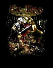 EX DEO cd lgo LION FIGHTER MEET THE AFTERLIFE Official SHIRT XL New kataklysm