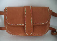 TAN BROWN LEATHER SHOULDER BAG HANDBAG MINI SATCHEL CROSS BODY