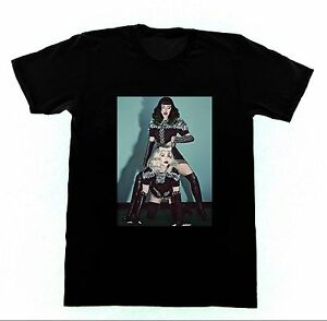 Madonna & Katy Perry Tshirt 76 Shirt Bettie Page BDSM Pin Up Bondage Erotica