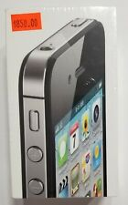 iPhone Apple 4s Cell Phone Unlocked & Reset Back to Factory Settings.