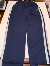 Nike basketball Blue Sweat Pants Elastic Waist Drawstring Men's Size Large