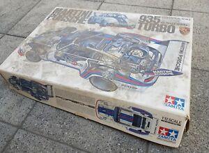 Martini-Porsche 935 Turbo Tamiya BS1223  1/12 - Angefangen/Unvollständig