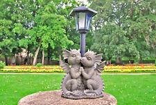 """Solar Gartenstecker Laterne Leuchte Lampe Skulptur Junge Mädchen /""""First Love/"""""""