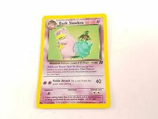 Pokemon TCG Card Team Rocket Dark Slowbro 012