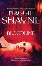 Bloodline by Maggie Shayne 2009 Paperback  NEW Wings in the Night Series book 17
