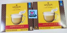 2 NEW Gevalia Kaffe Cafe At Home No Brewer Needed Cappuccino coffee