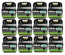 24er Gillette Body Rasierklingen 24x Klingen 12x 2er Gilette Gillete Gilete OVP