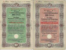Ersatzausfertigung Bayerische Hypotheken- und Wechselbank 8% Goldpfandbrief 1949