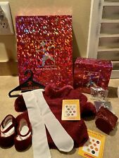 NEW American Girl of Today Garnet Holiday 2001 Outfit & Accessories Retired MINT