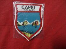 VINTAGE PATCH Cloth Patch Badge CAPRI I FARAGLIONI