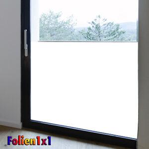 9,84€/qm Fenster Klebefolie Milchglas matt weiss 91 x 200 cm 68% Lichtdurchlass