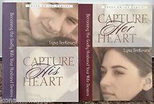 Capture Her / His Heart Lysa TerKeurst © 2002 Lot of 2 Books Focus on the Family