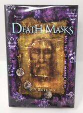 JIM BUTCHER Death Masks Signed Limited Subterranean Press HB/DJ Dresden Files #5