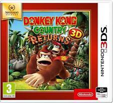 Nintendo 3DS Jeu DONKEY KONG COUNTRY RETURNS 2DS nouvelle partie compatibles