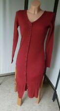 C.M. Strickkleid/Kleid mit Zierknopfleiste, rost-rot, Laura Scott,  Gr. 42(°207)