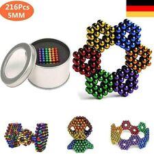 216 stücke 3mm 5mm Magnetkugeln Magie Perlen 3D Puzzle Ball Kugel Magnetic Cube