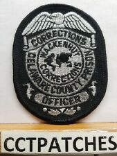 WACKENHUT, PENNSYLVANIA CORRECTIONS OFFICER SHOULDER PATCH PA