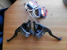 SHIMANO DEORE LX 3 x 7 BRAKE LEVERS AND SHIFTERS ST-M050 RETRO MTB BIKE STI SET