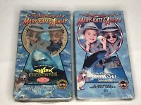 The Adventures of Mary-Kate & Ashley Lot of 2 VHS Tapes Olsen Mary Kate 1995-96