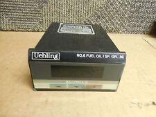 UEHLING DIGITAL TANK-O METER 5.0HNVI-NI-DD-NI S990X NO.6 FUEL OIL/SP.GR.96