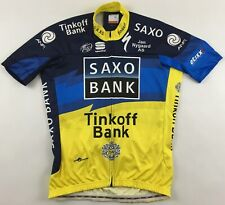 Tinkoff Saxo Bank 2012 Sportful Body Fit Pro shirt cycling top jersey XL