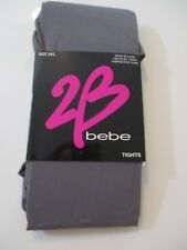 NWT bebe GRAY Tights SIZE M/L Fabulous GRAY tights that heat up looks from