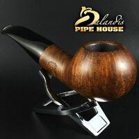 D.BALANDIS * BISON BARBAN * HANDMADE SMOOTH BRIAR wood TOBACCO smoking pipe