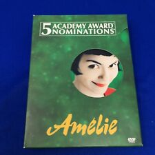 Amelie Slipcase 2-Disc Dvd Special Edition 2002 Audrey Tautou Rare 1st Edition