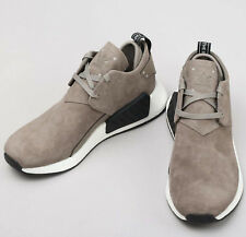 Mens ADIDAS Originals NMD C2 Taupe Brown Casual Sneakers BY9913 NEW